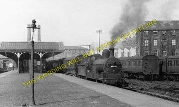 Bacup Railway Station Photo. Stacksteads - Britannia. Stubbins to Rochdale. (3)