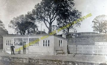 Baggrow Railway Station Photo. Aspatria - Mealsgate. Maryport & Carlisle Rly (1).