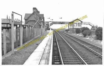 Bagillt Railway Station Photo. Flint - Holywell. Chester to Rhyl Line. L&NWR (1)
