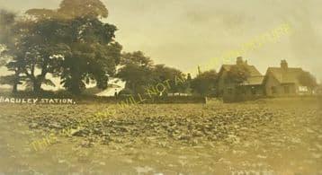 Baguley Railway Station Photo. Altrincham - Northenden. Cheadle Line. CLC. (3)