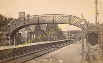 Baildon Railway Station Photo. Shipley - Esholt. Guiseley and Burley Line. (4)
