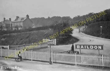Baildon Railway Station Photo. Shipley - Esholt. Guiseley and Burley Line. (7)