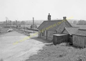 Bailey Gate Railway Station Photo. Spetisbury - Broadstone Junction. S&DJR (10)