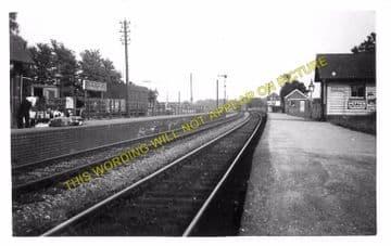 Bailey Gate Railway Station Photo. Spetisbury - Broadstone Junction. S&DJR (5)