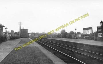 Baillieston Railway Station Photo. Broomhouse - Langloan. Coatbridge Line. (1).
