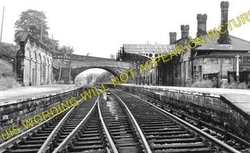 Bakewell Railway Station Photo. Hassop -  Rowsley. Buxton to Cromford Line. (2)