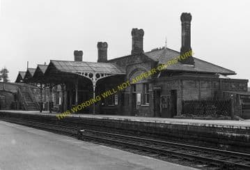Bakewell Railway Station Photo. Hassop -  Rowsley. Buxton to Cromford Line. (7)