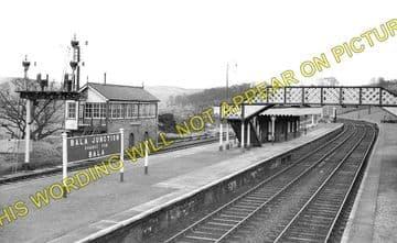 Bala Junction Railway Station Photo. Llandrillo - Llanuwchllyn. (1)..
