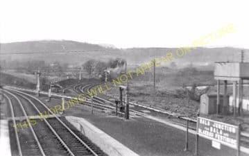 Bala Junction Railway Station Photo. Llandrillo - Llanuwchllyn. (2)