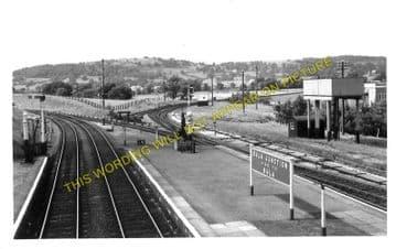 Bala Junction Railway Station Photo. Llandrillo - Llanuwchllyn. (3)