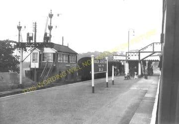 Bala Junction Railway Station Photo. Llandrillo - Llanuwchllyn. (9)