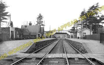 Bala Railway Station Photo. Bala Junction - Frongoch. Blaenau Festiniog (1)