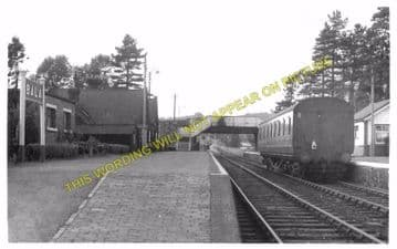 Bala Railway Station Photo. Bala Junction - Frongoch. Blaenau Festiniog (11)