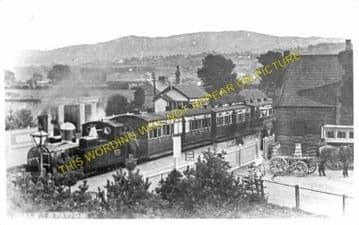 Bala Railway Station Photo. Bala Junction - Frongoch. Blaenau Festiniog (14)