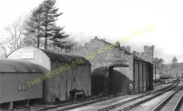 Bala Railway Station Photo. Bala Junction - Frongoch. Blaenau Festiniog (19)