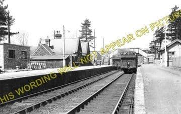Bala Railway Station Photo. Bala Junction - Frongoch. Blaenau Festiniog (2)