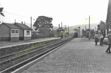 Bala Railway Station Photo. Bala Junction - Frongoch. Blaenau Festiniog (20)