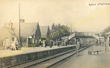 Bala Railway Station Photo. Bala Junction - Frongoch. Blaenau Festiniog (22)