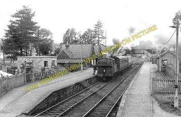 Bala Railway Station Photo. Bala Junction - Frongoch. Blaenau Festiniog (3)