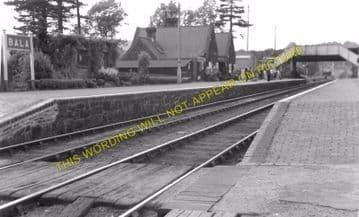 Bala Railway Station Photo. Bala Junction - Frongoch. Blaenau Festiniog (7)