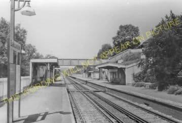 Balcombe Railway Station Photo. Haywards Heath - Three Bridges. LB&SCR. (10).