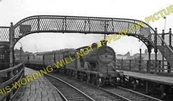 Balgreen Railway Station Photo. Edinburgh - Corstorphine. North British Rly. (2).