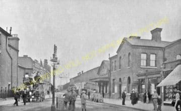 Balham Railway Station Photo. Wandsworth Common to Streatham and Norbury. (4)