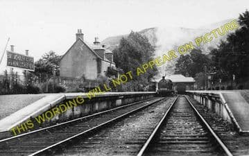Ballachulish Railway Station Photo. Kentallen, Appin and Connel Ferry Line. (1)..