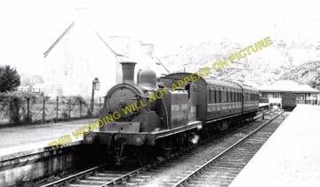 Ballachulish Railway Station Photo. Kentallen, Appin and Connel Ferry Line. (4)