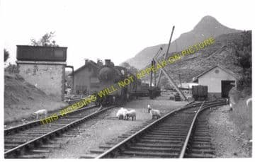 Ballachulish Railway Station Photo. Kentallen, Appin and Connel Ferry Line. (8)