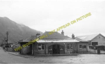 Ballachulish Railway Station Photo. Kentallen, Appin and Connel Ferry Line. (9)