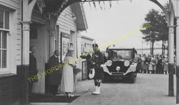 Ballater Railway Station Photo. Cambus O'May, Aboyne, Banchory and Aberdeen (15)