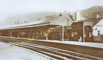 Ballater Railway Station Photo. Cambus O'May, Aboyne, Banchory and Aberdeen (19)