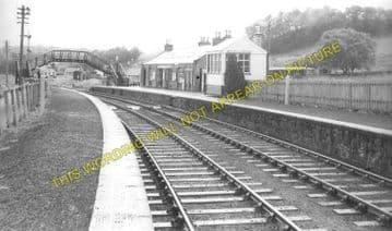 Ballindalloch Railway Station Photo. Advie - Blacksboat. Grantown Line. (1)..