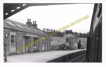 Ballindalloch Railway Station Photo. Advie - Blacksboat. Grantown Line. (2)