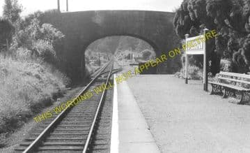 Ballingham Railway Station Photo. Holme Lacy - Fawley. Hereford to Ross. (4)