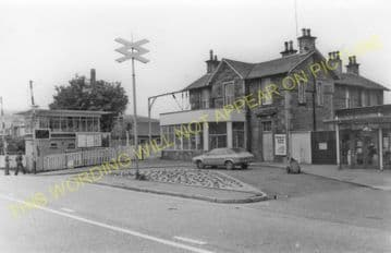 Balloch Central Railway Station Photo. Alexandria and Dumbarton Line. D&BJR (7)