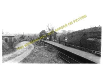 Balmore Railway Station Photo. Bardowie - Tottance. Glasgow to Gavell Line (1)