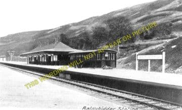 Balquhidder Railway Station Photo. Kinghouse to Lochearnhead and Killin (4)