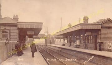 Balshaw Lane & Euxton Railway Station Photo. Coppull - Leyland. Preston Line (3).