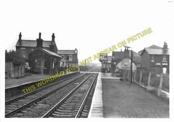 Bamber Bridge Railway Station Photo. Preston - Hoghton. Blackburn Line. (3)