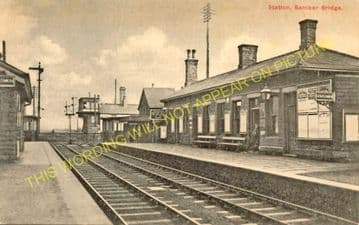 Bamber Bridge Railway Station Photo. Preston - Hoghton. Blackburn Line. (5)