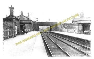 Bamford Railway Station Photo. Hathersage - Hope. Chinley Line (2)