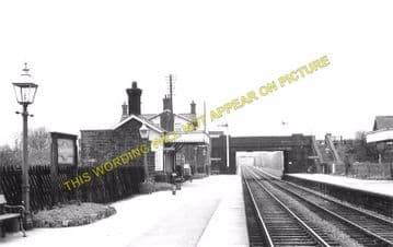 Bamford Railway Station Photo. Hathersage - Hope. Chinley Line (3)