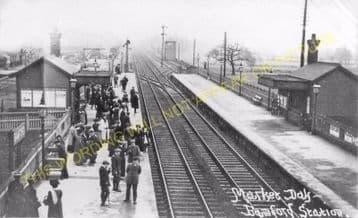 Bamford Railway Station Photo. Hathersage - Hope. Chinley Line (5)
