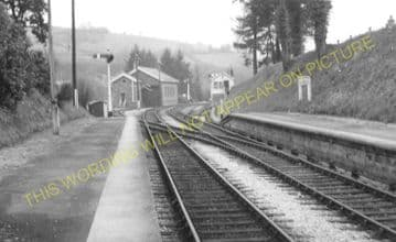 Bampton Railway Station Photo. Dulverton - Tiverton. GWR. (17)