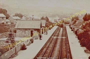 Bampton Railway Station Photo. Dulverton - Tiverton. GWR. (18)