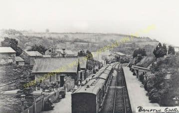 Bampton Railway Station Photo. Dulverton - Tiverton. GWR. (19)