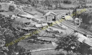 Bampton Railway Station Photo. Dulverton - Tiverton. GWR. (3)
