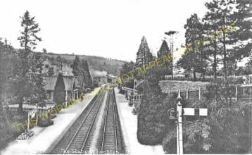 Bampton Railway Station Photo. Dulverton - Tiverton. GWR. (7)
